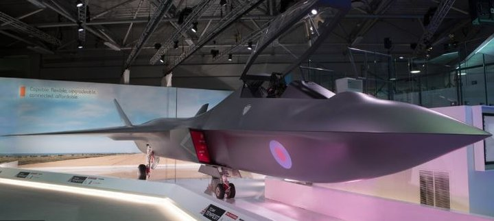 BAE Systems Tempest Mock Up.JPG